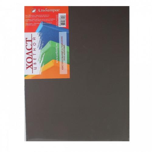 Холст на подрамнике «Альбатрос» 30х40 см, черный, хлопок 100%