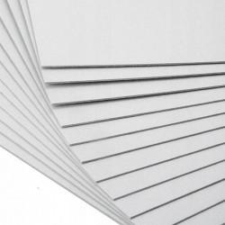 Пенокартон 3мм белый глянцевый 50х70см