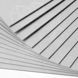 Пенокартон 3мм белый глянцевый 70х100см
