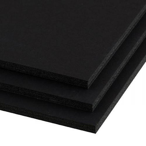 Пенокартон 5мм черный матовый 50х70см