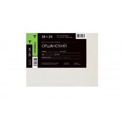 Холст Оршанский мелкозернистый, 100% лен, 235г/м2, 18х24 см