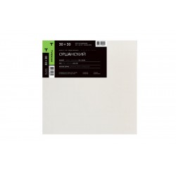 Холст Оршанский мелкозернистый, 100% лен, 235г/м2, 30х30 см