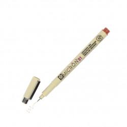 Капиллярная ручка Pigma Micron цвет коричневый, 01 (толщина линии 0,25 мм)