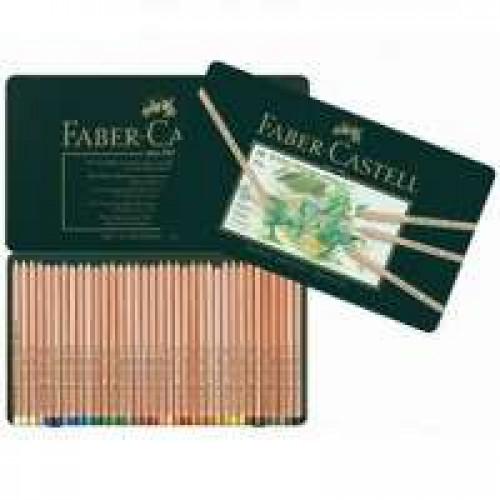Набор пастельных карандашей Faber-Castell PITT, 36 цветов в металлической коробке