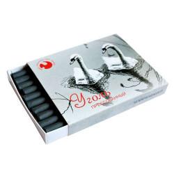 Уголь прессованный в картонной коробке, 10 шт