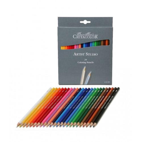 Набор цветных карандашей Artist Studio Line, 24 цвета