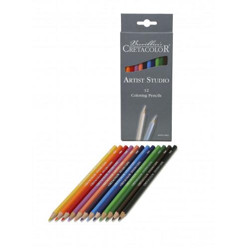 Набор цветных карандашей Artist Studio Line, 12 цветов