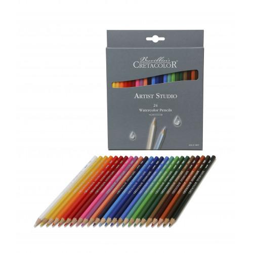 Набор акварельных карандашей Artist Studio Line, 24 цвета