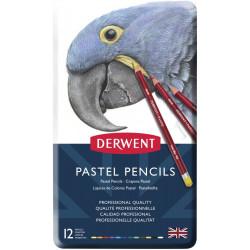 Набор пастельных карандашей Pastel Pencils 12 цветов в металлической упаковке