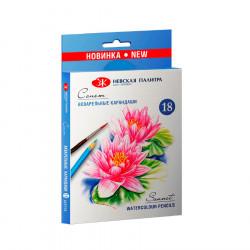 """Набор акварельных карандашей """"Сонет"""" 18 цветов NEW!"""