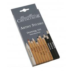 Набор художественных карандашей «Artist Studio Line», 11 шт