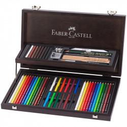 """Набор художественных изделий Faber-Castell """"Art & Graphic Compendium"""", 54 предмета"""