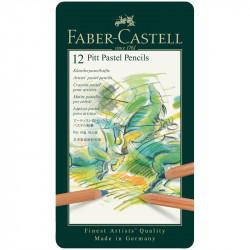Пастельные карандаши Faber-Castell «Pitt Pastel» 12цв