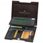 """Набор художественных изделий Faber-Castell """"Pitt Monochrome"""", 85 предметов"""