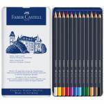 Карандаши цветные Faber-Castell «Goldfaber» 12 цветов, металлическая коробка