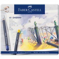 Карандаши цветные Faber-Castell «Goldfaber» 48цв.