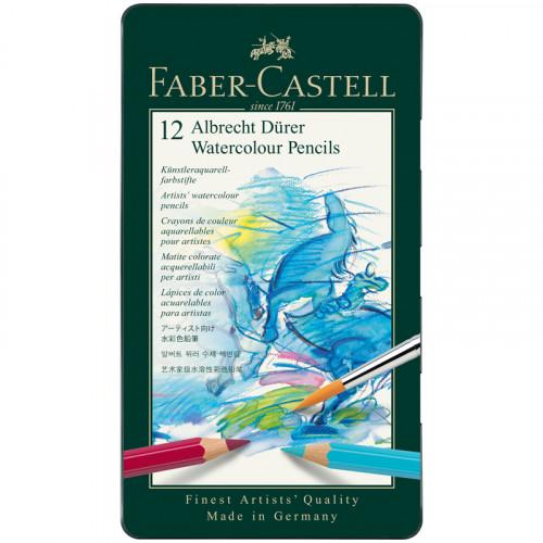 """Карандаши акварельные художественные Faber-Castell """"Albrecht Dürer"""", 12цв"""
