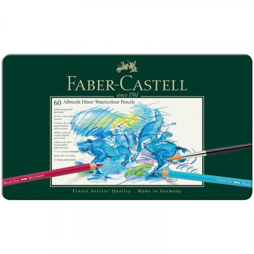 Карандаши акварельные художественные Faber-Castell «Albrecht Dürer», 60цв