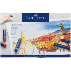 Пастель масляная Faber-Castell «Oil Pastels», 36 цветов