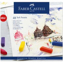 Пастель Faber-Castell «Soft pastels», 48 цв., мини