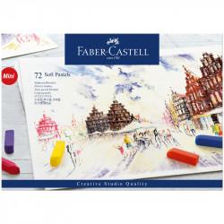 Пастель Faber-Castell «Soft pastels», 72 цв., мини