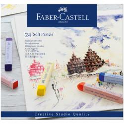 Пастель Faber-Castell «Soft pastels», 24 цв.