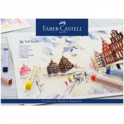 Пастель Faber-Castell «Soft pastels», 36 цв.