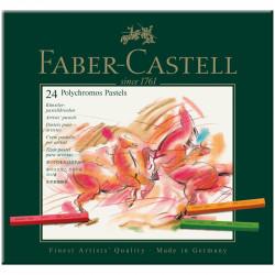 Пастель художественная Faber-Castell «Polychromos» 24цв