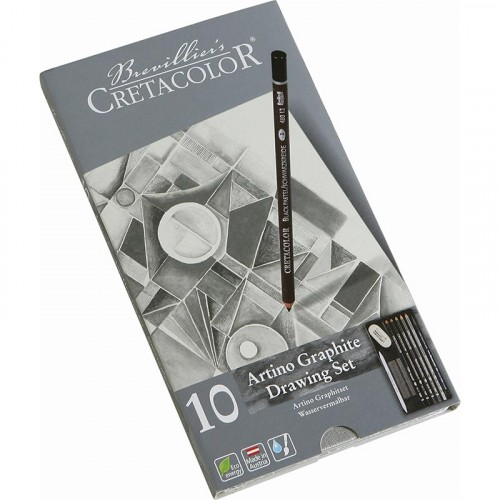 Набор для рисования Artino Graphite, 10 предметов в металлической коробке