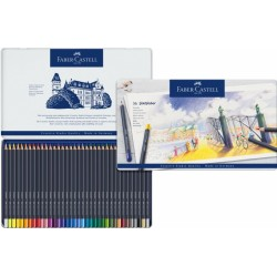 Набор цветных карандашей Faber-Castell Goldfaber (36 штук в жестяной коробке)