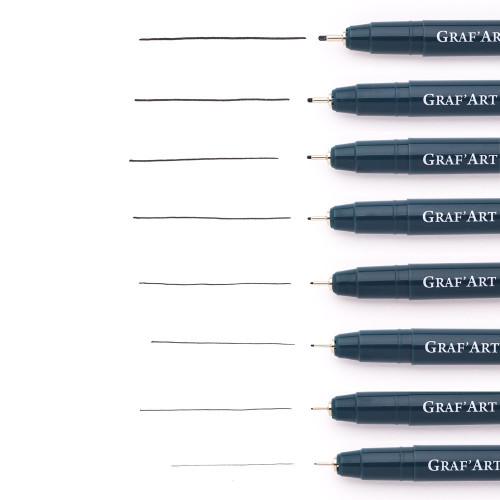 Капиллярная ручка Малевичъ GrafArt, 0,1