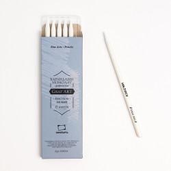 Пастельный карандаш монолит Малевичъ, белый