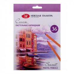 Набор пастельных карандашей «Сонет», 36 цветов (2020 edition)