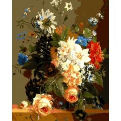 Картина по номерам «Роскошные цветы», 30x40 см Premium