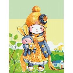 Картина по номерам «Куколка», 30x40 см Premium