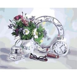 Картина по номерам «Цветочное настроение», 40*50 см.
