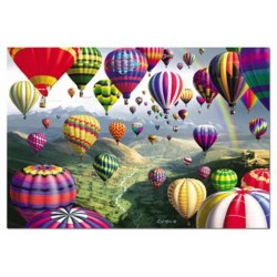 Картина по номерам «Разноцветное небо», 50x65 см