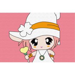 Картина по номерам «Малышка с конфетой», 10x15 см