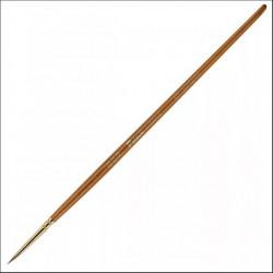 Кисть колонок №000 круглая Pinax Creative 431 короткая ручка