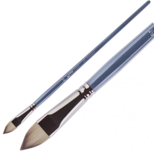 Pinax Artist HI-TECH плоская овальная язык №12 длинная ручка