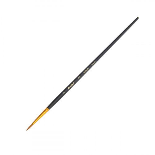 Кисть Roubloff 1317 синтетика круглая с длинной ручкой №3
