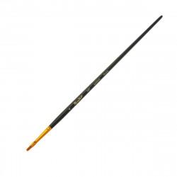 Кисть Roubloff 1327 синтетика плоская c длинной ручкой, №4