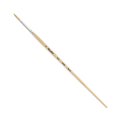 Кисть Roubloff 1612 щетина круглая с длинной ручкой, №4
