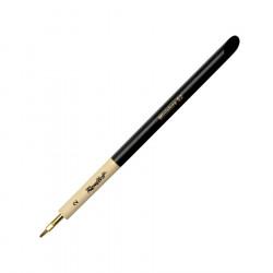 """Кисть """"Миниатюра"""" плоская имитация колонка, ручка скошенная утолщенная №2"""