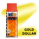 Аэрозольная краска Molotow Premium Золотая (Gold Dollar) 400 мл