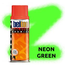 Аэрозольная краска Molotow Premium Neon Зеленая (Neon Green) 400 мл