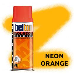 Аэрозольная краска Molotow Premium Neon Оранжевая (Neon Ogange) 400 мл