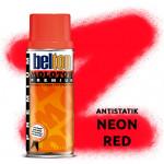 Аэрозольная краска Molotow Premium Neon Красная (Antistatick Neon Red) 400 мл