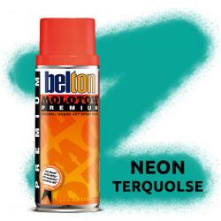 Аэрозольная краска Molotow Premium Neon Бирюза (Neon Terquolse) 400 мл