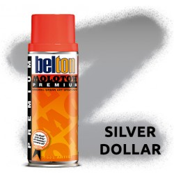 Аэрозольная краска Molotow Premium Серебряная (Silver Dollar) 400 мл